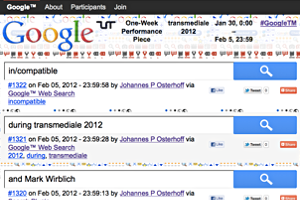 johannes p osterhoff - Google™ – One Week Piece
